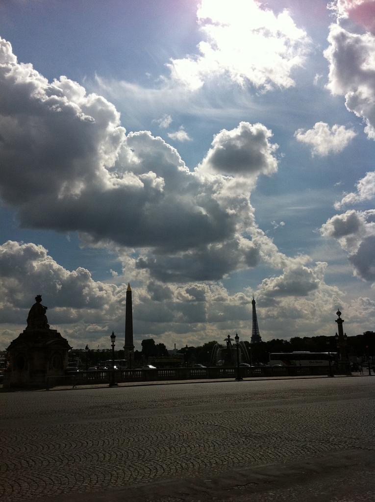 Zomer in Parijs