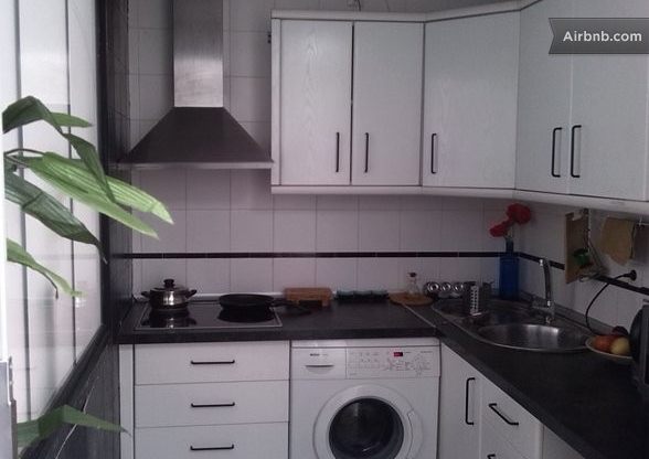 airbnb-sevilla-keuken