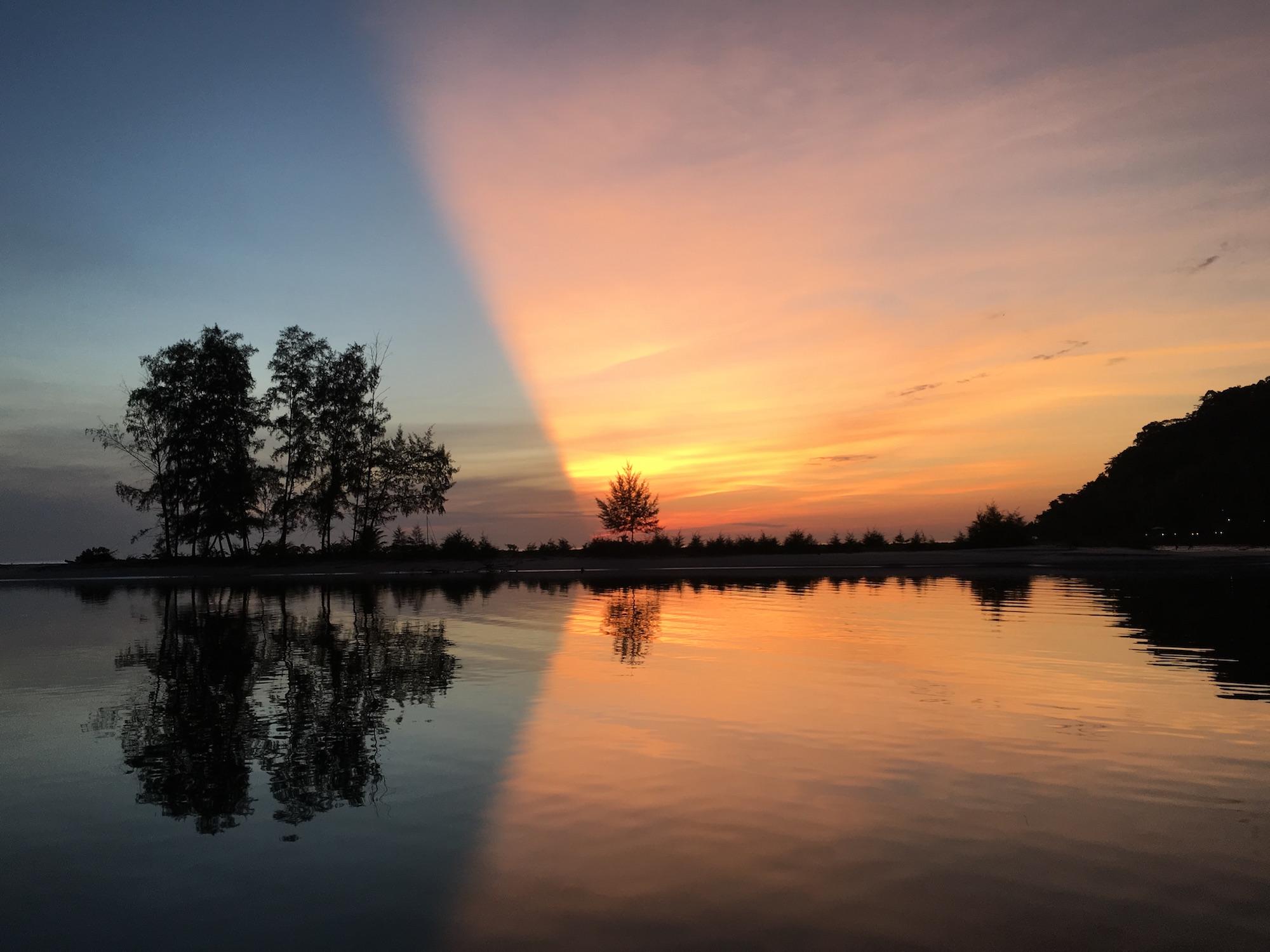 zonsondergang-kho-kut-thailand