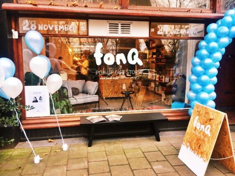 FonQ Pop-up store Sarphatipark