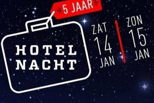 hotelnacht 14-15 januari amsterdam