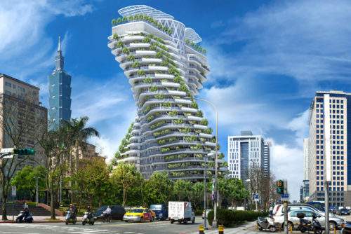 Agora Tower plant power Let it Grow