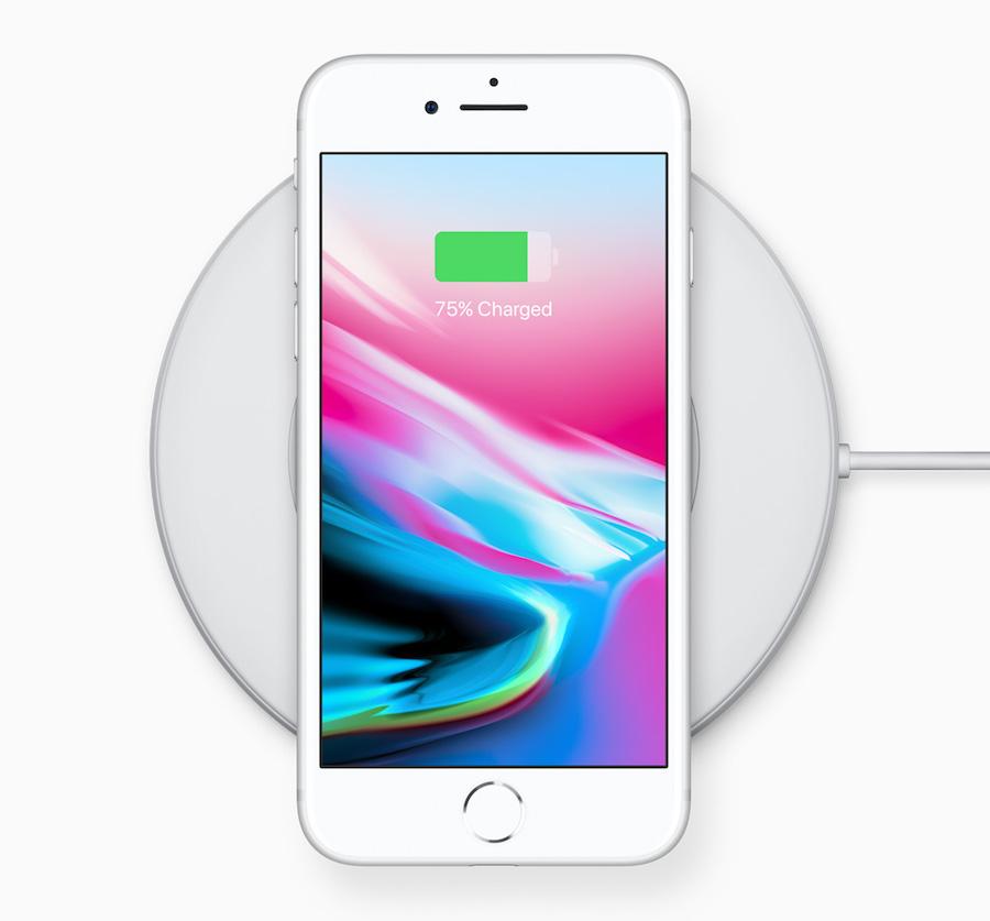 iphone 8 draadloos laden
