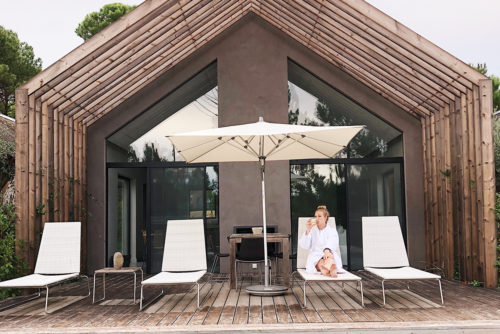 Sublime Comporta in Alentejo luxe cabana met zwembad