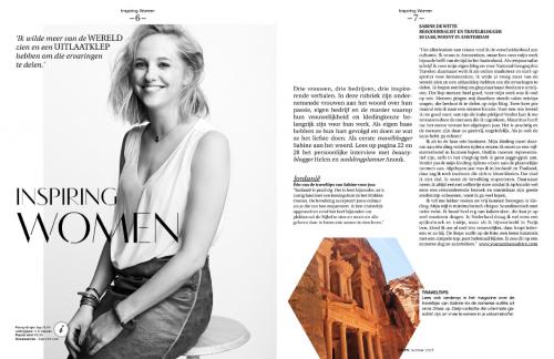 Steps magazine interview Sabine