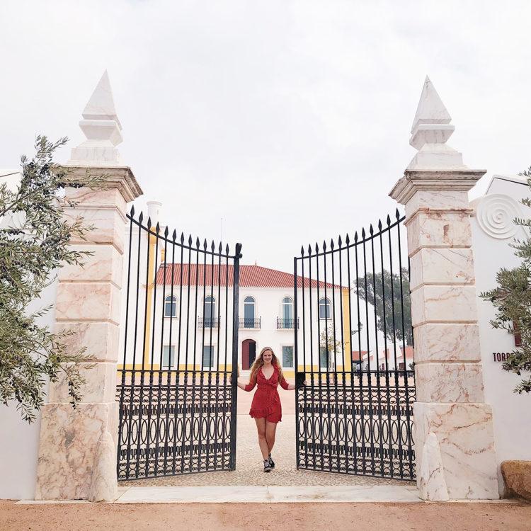 Torre de Palma designhotel entree Alentejo