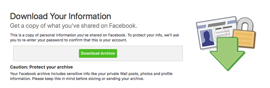 download-facebook-archive