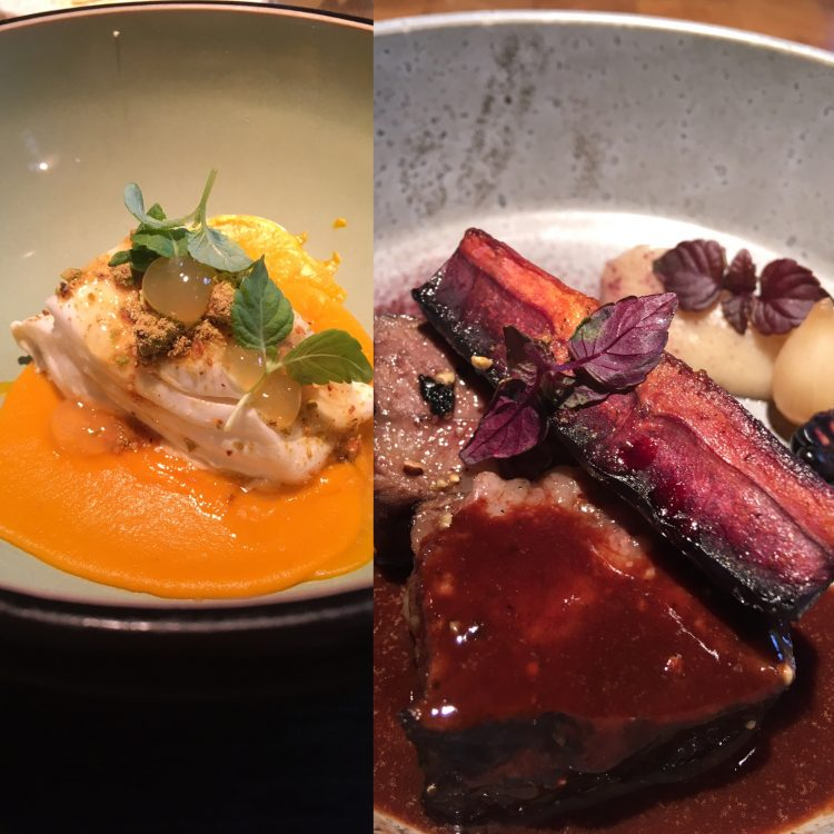 vlees en vis bij envy lunch