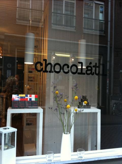 Chocolatl chocolade winkel Amsterdam