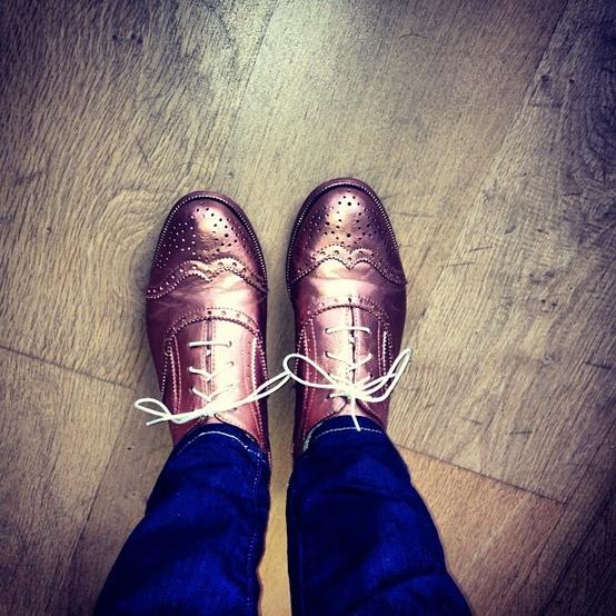 koperen schoenen zelf maken