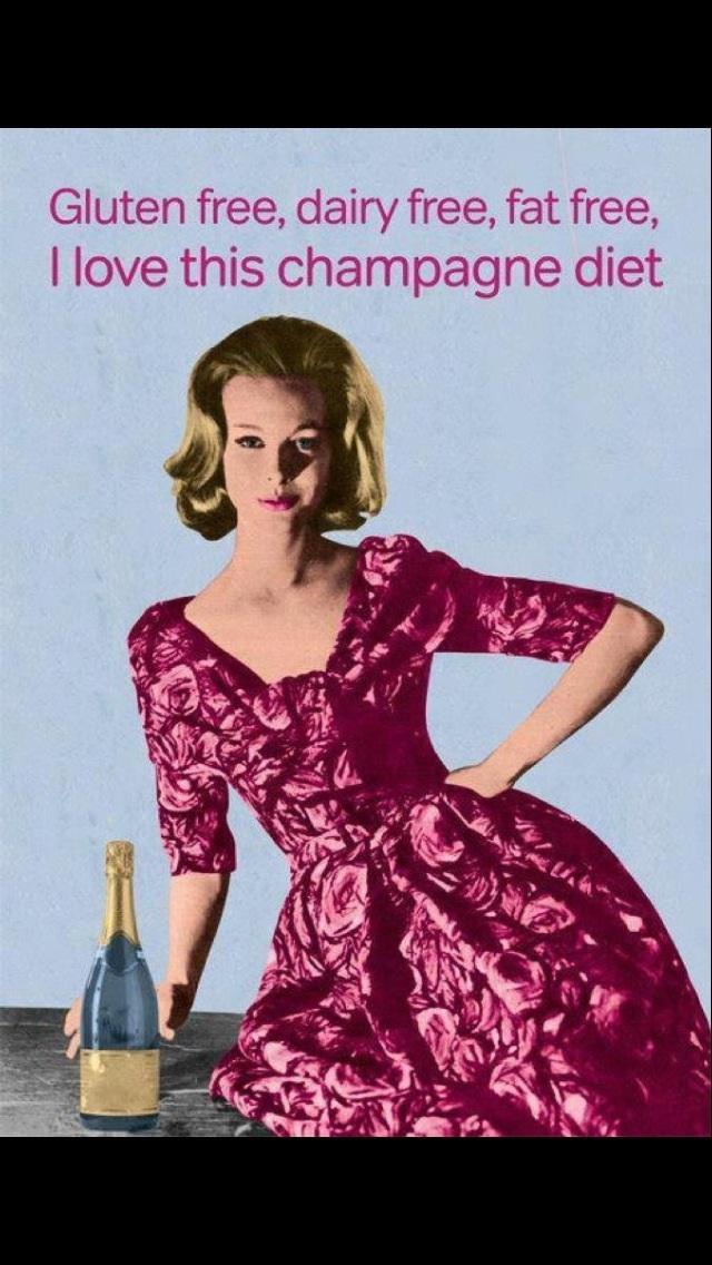 Dieet champagne
