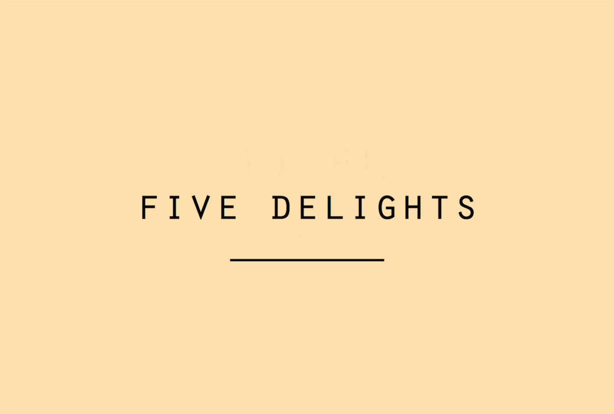Five Delights geuren