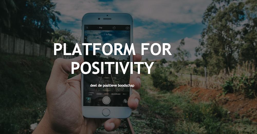 platform for positivity #plat4p