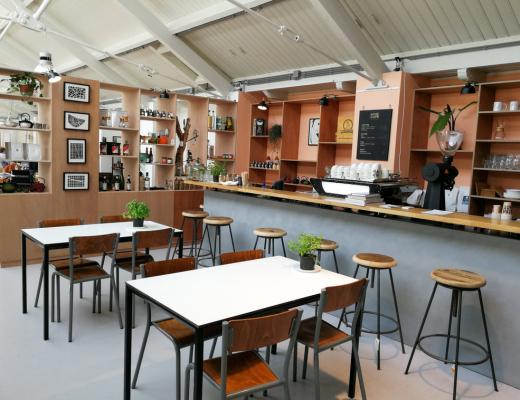 the maker cafe de hallen west