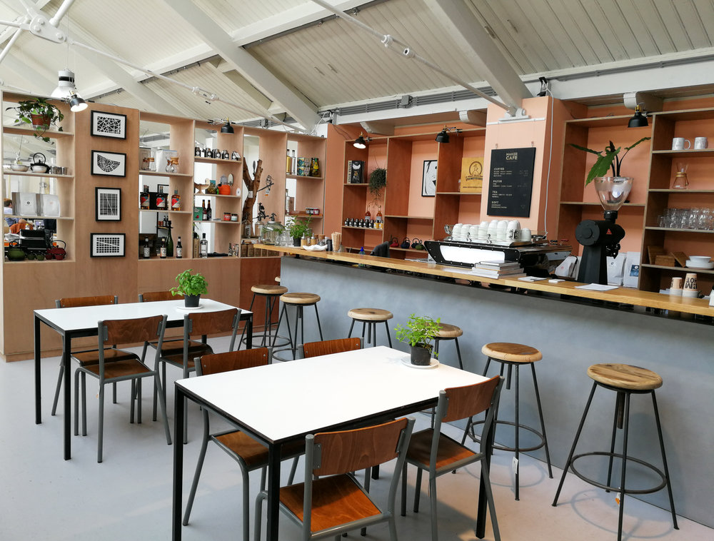 the maker cafe de hallen west