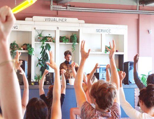 yoga nidra event QO hotel