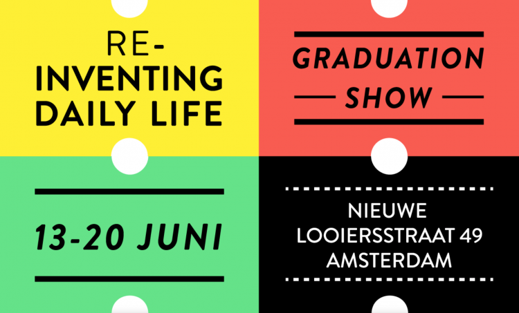 graduation show reinventing daily life