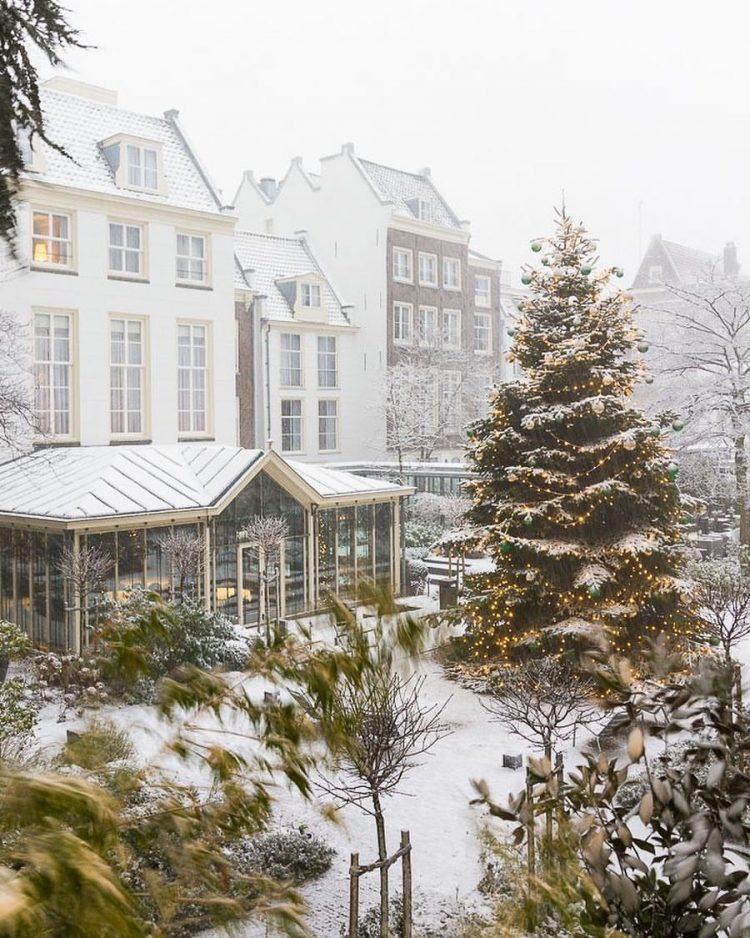 pulitzer amsterdam kerstboom